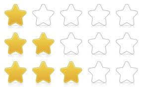 star rating fro online reviews