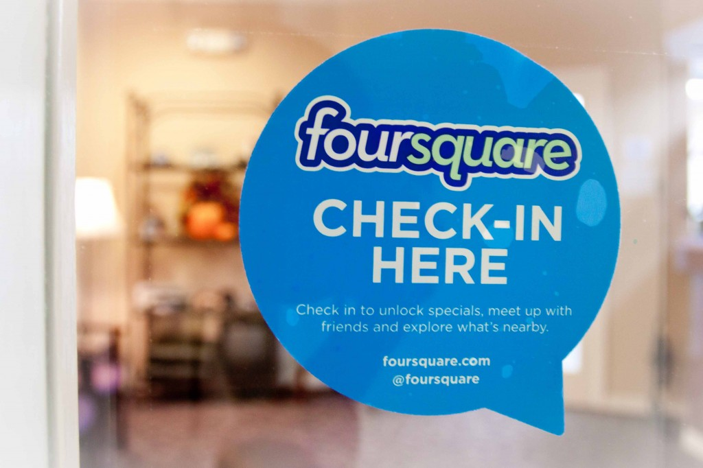 Check-in here on Foursquare