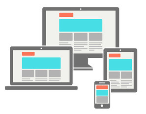 Email marketing for mobile: Responsive web design on different devices
