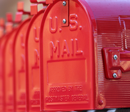 Direct mail marketing driven by distinction