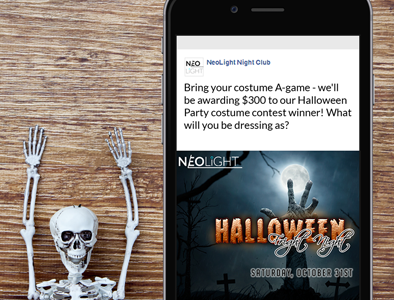 Social Media: Halloween Facebook Promo Idea