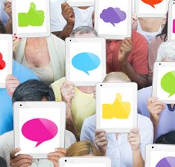 combining web and social media