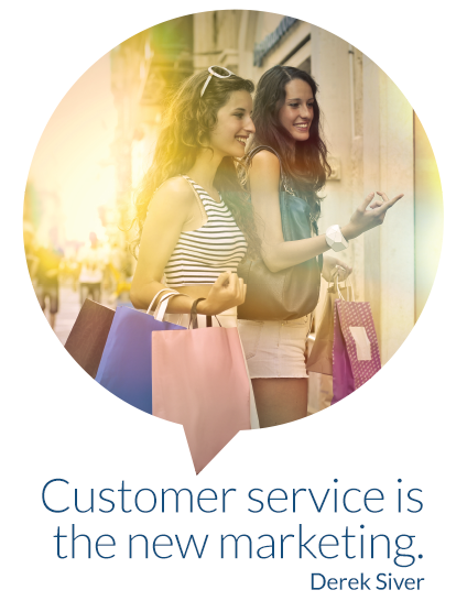 Customer service is the new marketing. Derek Siver