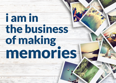We're all in the memory business – making sure your customers have a great memorable experience in your restaurant. Joel Cohen.