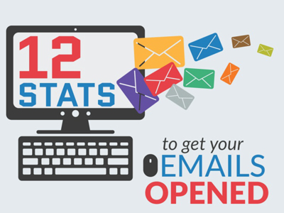 12 stats to get your emails opened