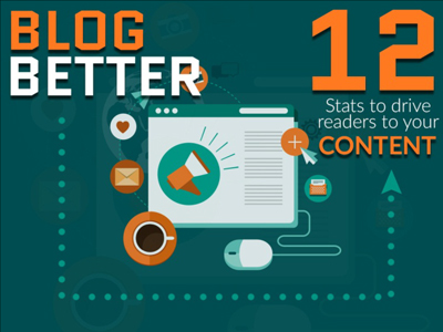 Blog Better: 12 stats to drive readers to your content