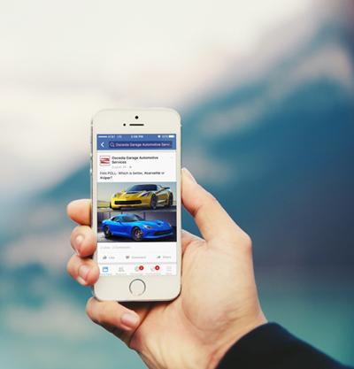 Auto shop facebook post example