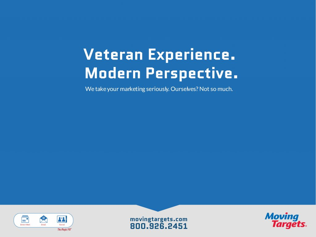 Veteran Experience. Modern Perspective.