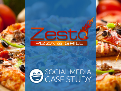 Social Media Marketing Case Study | Zesto Pizza & Grill