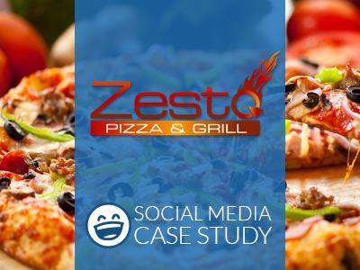 Social Media Marketing Case Study | Zesto Pizza & Grill