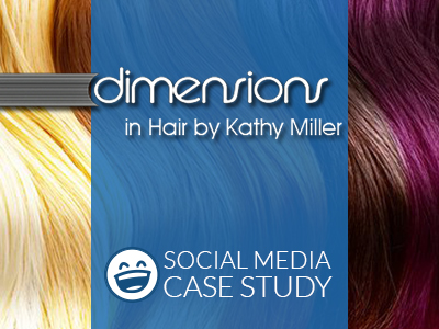 Social Media Marketing Case Study | Dimensions in Hair