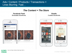 Social media sites become digital storefronts, guiding prospects from discovery to purchase.