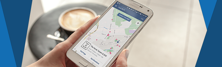Facebook check-ins provide social proof, attracting users to local businesses.