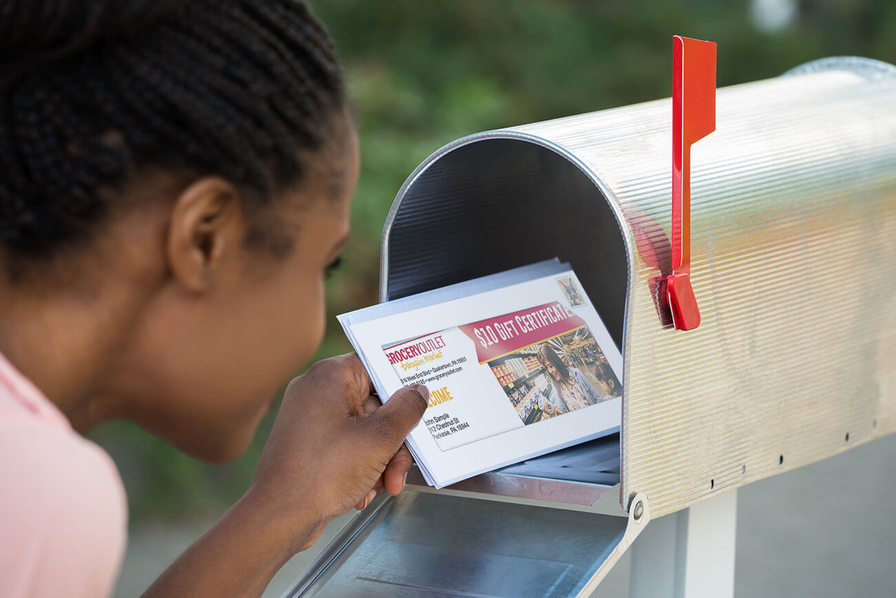 Create your own direct mail marketing campaign