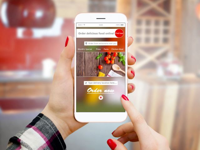 Pizzeria Online Order strategy geofencing