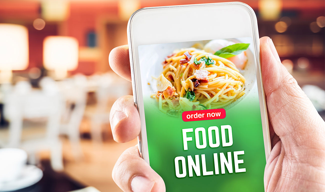 restaurant email marketing on mobile phone